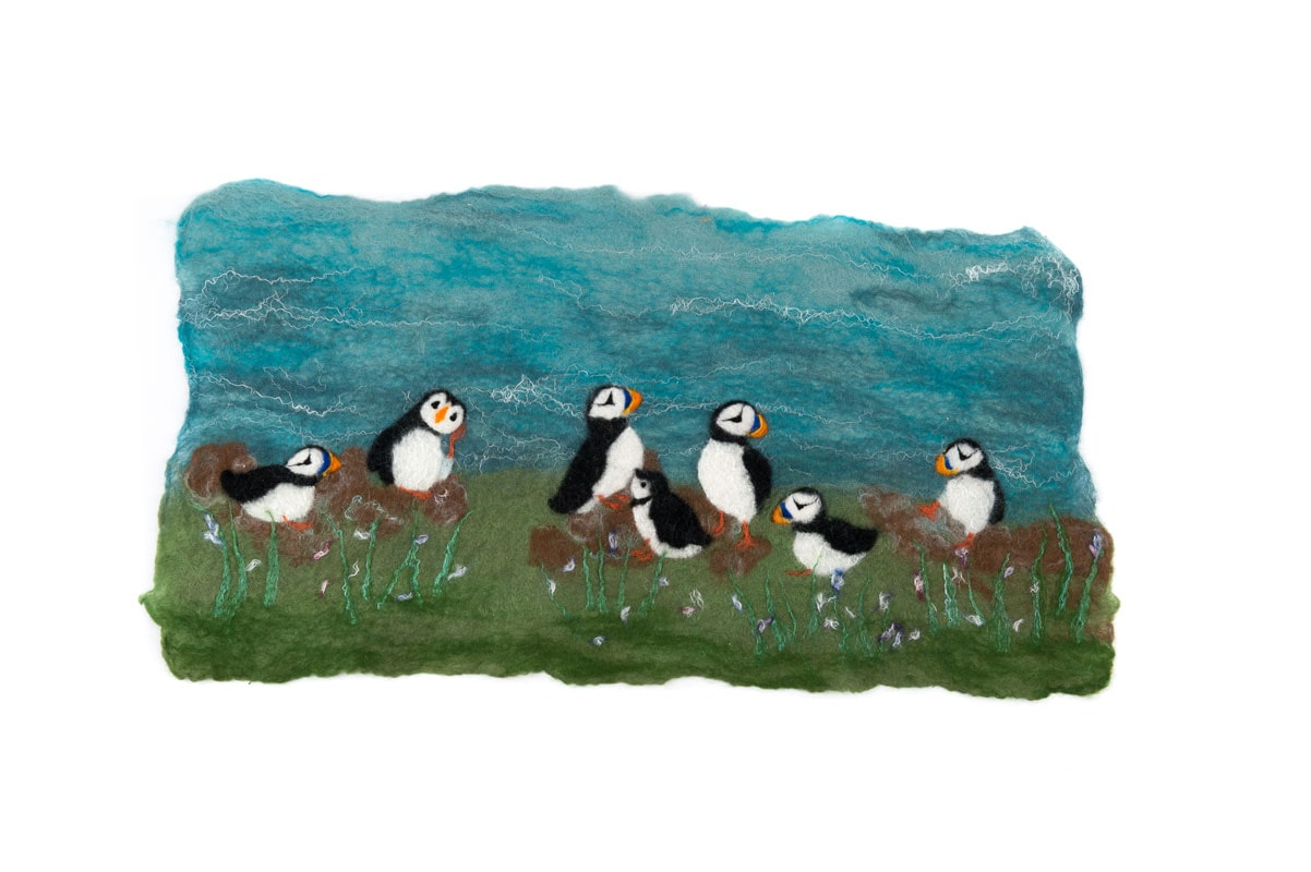 Puffin Picture Felt Making Kit £21