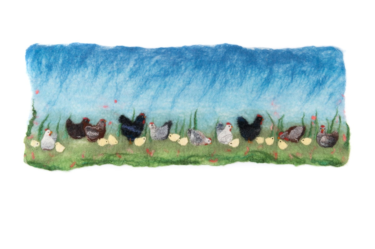 Chicken Picture Felt Kit £18