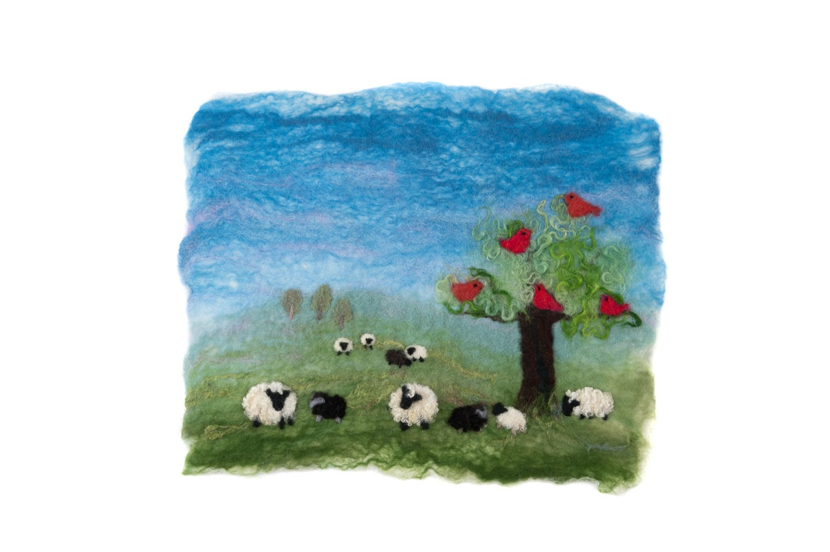 Sheep Picture Felt Making Kit £20