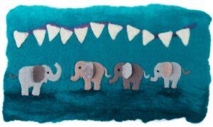 Felt elephant kits